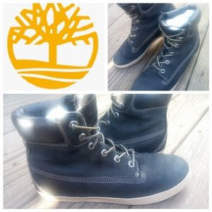 🌳Timberland leather boot sneakers🌳
